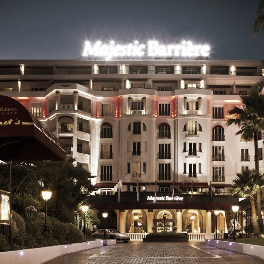 LE MAJESTIC BARRIERE CANNES